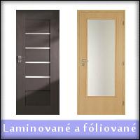 Laminované a fóliované interiérové dvere