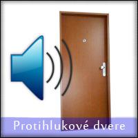 Protihlukové dvere