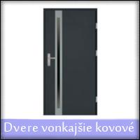 Vovkajšie vchodové dvere (exteriérové)