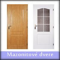 Mazonitové dvere (z lisovanej mdf)