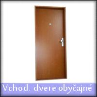 Dvere vchodové, obyčajné