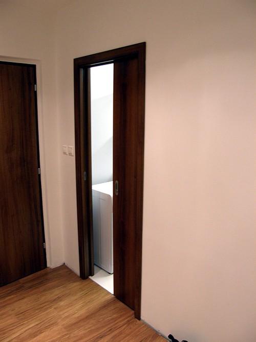 Posuvné dvere zasúvané do steny